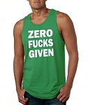 Zero Fucks Given.  Men's Tank Top
